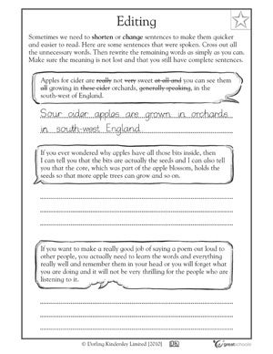 Printables Editing Practice Worksheets 1000 images about third grade on pinterest teaching common 5 great writing worksheets 3 editing greatschools