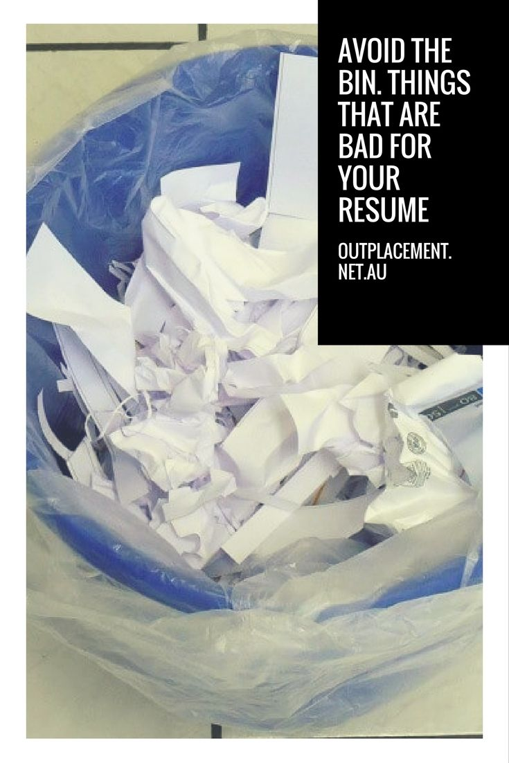 5 things to delete from your resume. More careers advice from Glide Outplacement and Career Coaching.