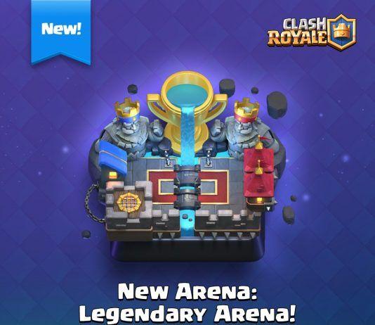 Clash Royale Actualización marzo 2017 llegará con nueva arena legendaria (Arena 11)