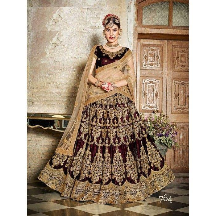 Exquisite Bridal Lehenga Choli - 15