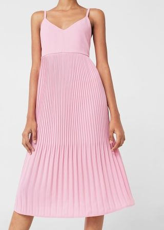 Pleated dress -  Women | MANGO USA