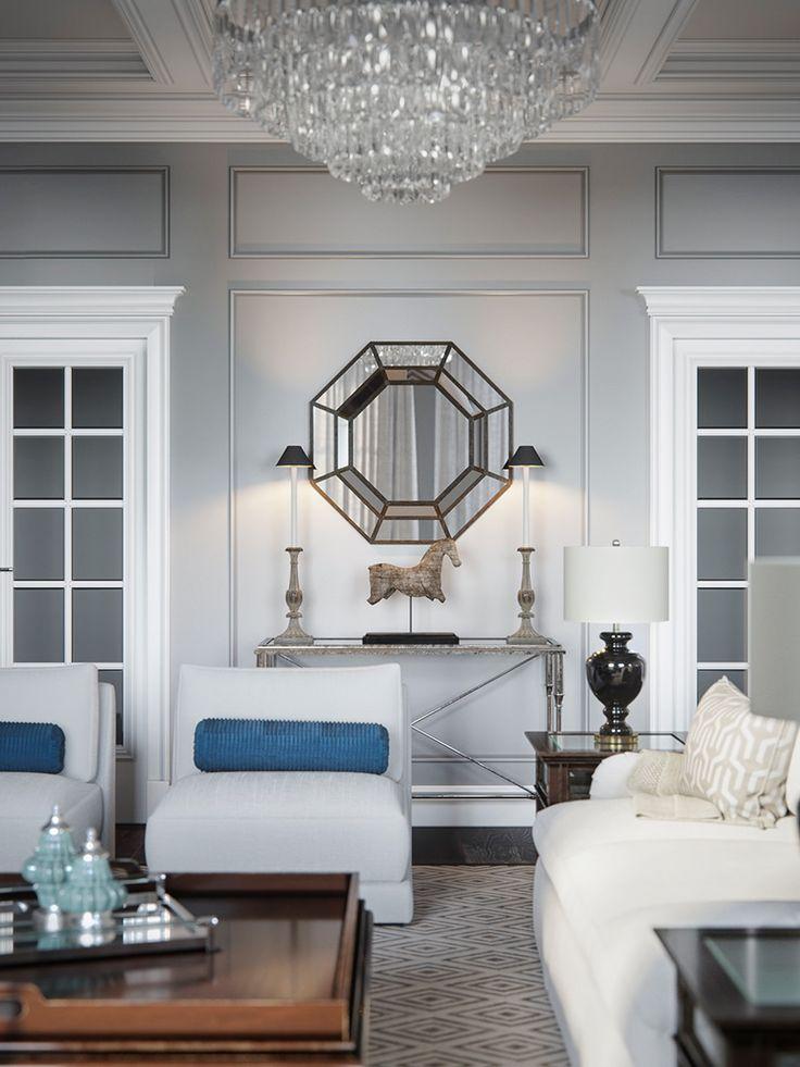 Интерьер в стиле американской классики. ЖК Brilliant House. #livingroom #design #Interiors #гостиная #идея #акименков #стиль #дизайн #интерьер