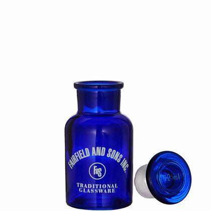 AQUAMARIN üvegcse kék