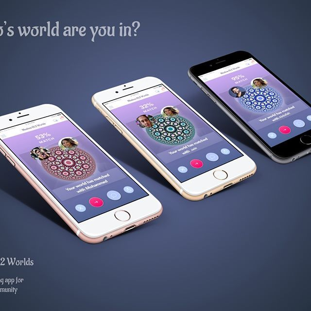 It's heart warming to see the matching that is going on, we wish only the best for all!❤️❤️❤️! Muslims of 2 worlds app !!!