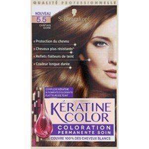 kranove 55 chtain dor coloration permanente soin la boite de 154ml - Coloration Keranove