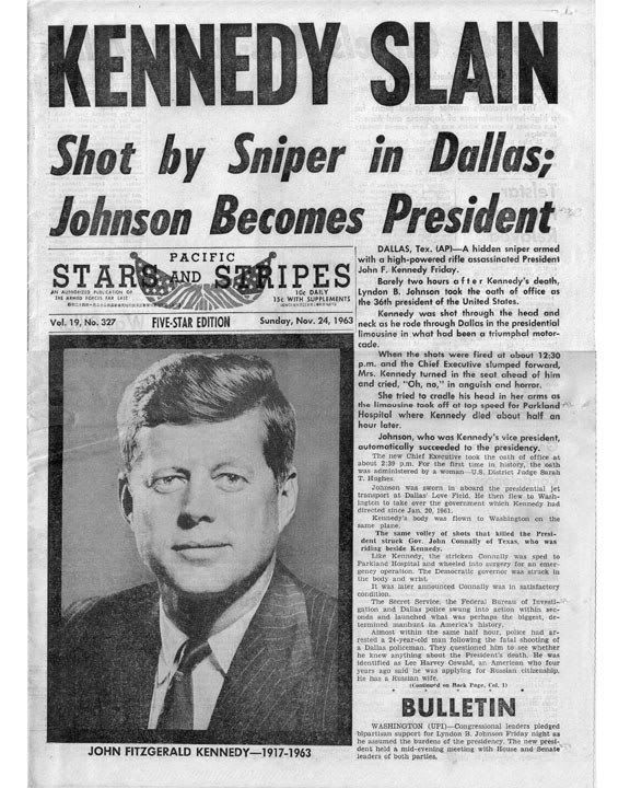 a history of the assassination of john f kennedy Jfk jfk in history  november 22, 1963: death of the president  by the fall  of 1963, president john f kennedy and his political advisers were preparing for .