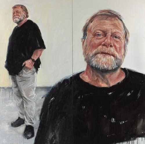 Danelle Bergstrom: Take two - Jack Thompson :: Archibald Prize 2007 :: Art Gallery NSW