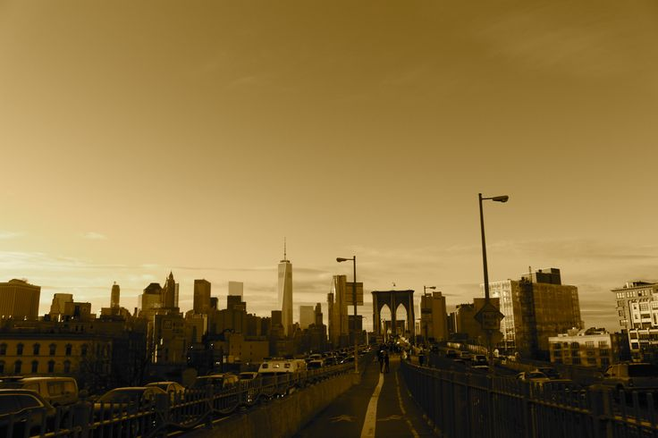 View From The Brooklyn Bridge - December 2014