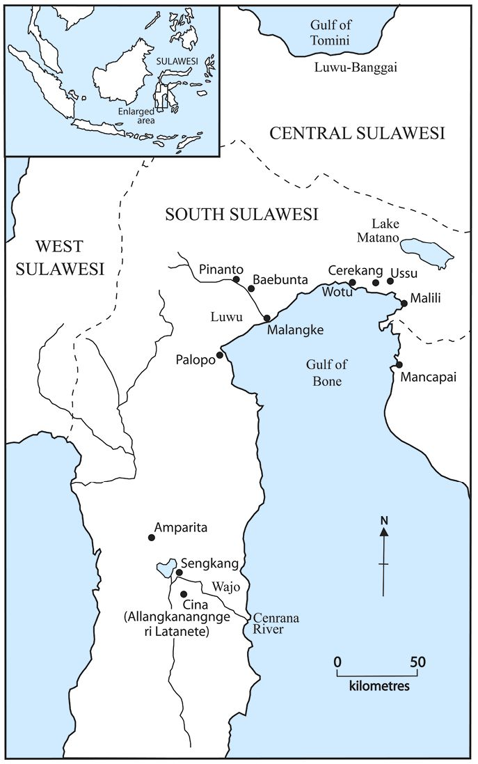 Wotu, Manussu (Ussu) & Cerrea (Cerekang)