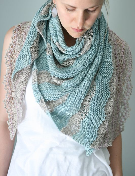 Ravelry: Pennae Shawl by Hilary Smith Callis