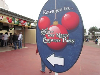 Disney World's Mickey's Very Merry Christmas Party