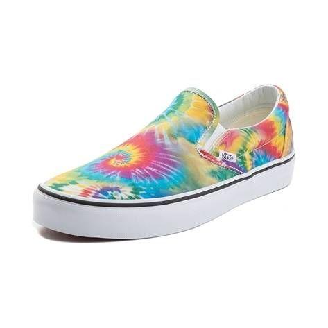 Vans Slip On Tie Dye Skate Shoe - Multi