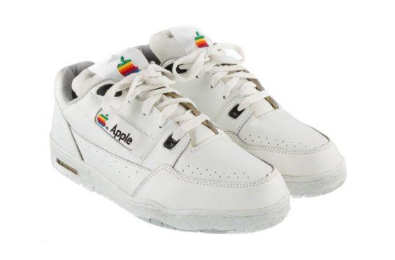 http://SneakersCartel.com You Can Be The Owner Of This Super Rare Pair Of Apple Computer Sneakers #sneakers #shoes #kicks #jordan #lebron #nba #nike #adidas #reebok #airjordan #sneakerhead #fashion #sneakerscartel