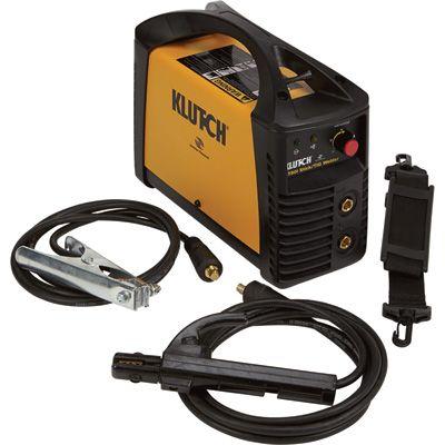 Klutch Reconditioned ST80i Inverter-Powered DC Stick Welder with TIG Option — 115 Volt, 20–75 Amp DC, 90 Amp Peak