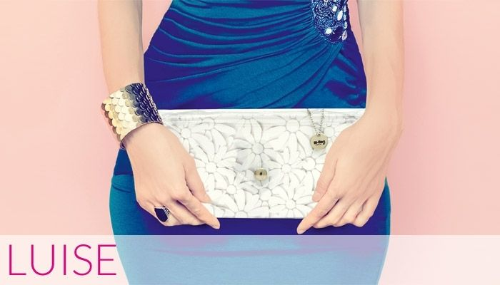 Luise Collection #daisy #clutch #bag