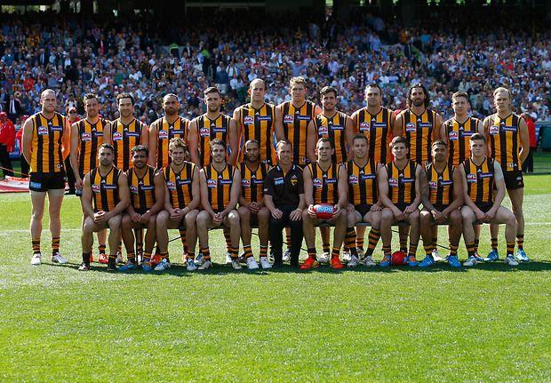 Hawks 2014 grand final side