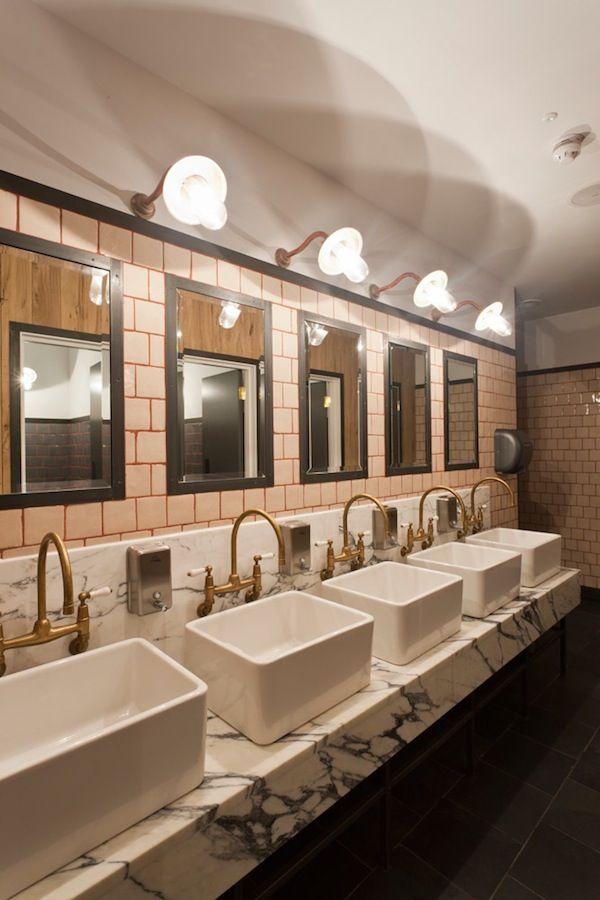 1000 commercial bathroom ideas on pinterest restroom design dropped ceiling and bathroom. Black Bedroom Furniture Sets. Home Design Ideas
