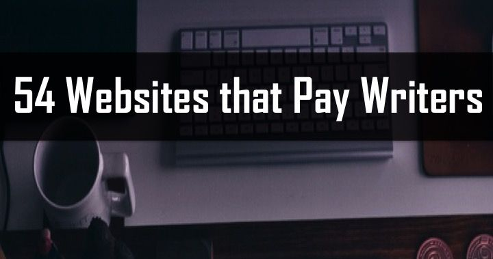54 websites that pay writers