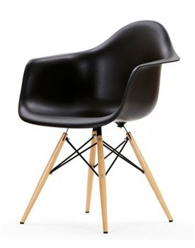 Eames Plastic Chair daw black - Google zoeken