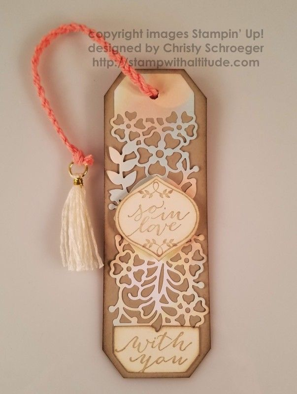 So In Love Bookmark by cmsweb - Cards and Paper Crafts at Splitcoaststampers