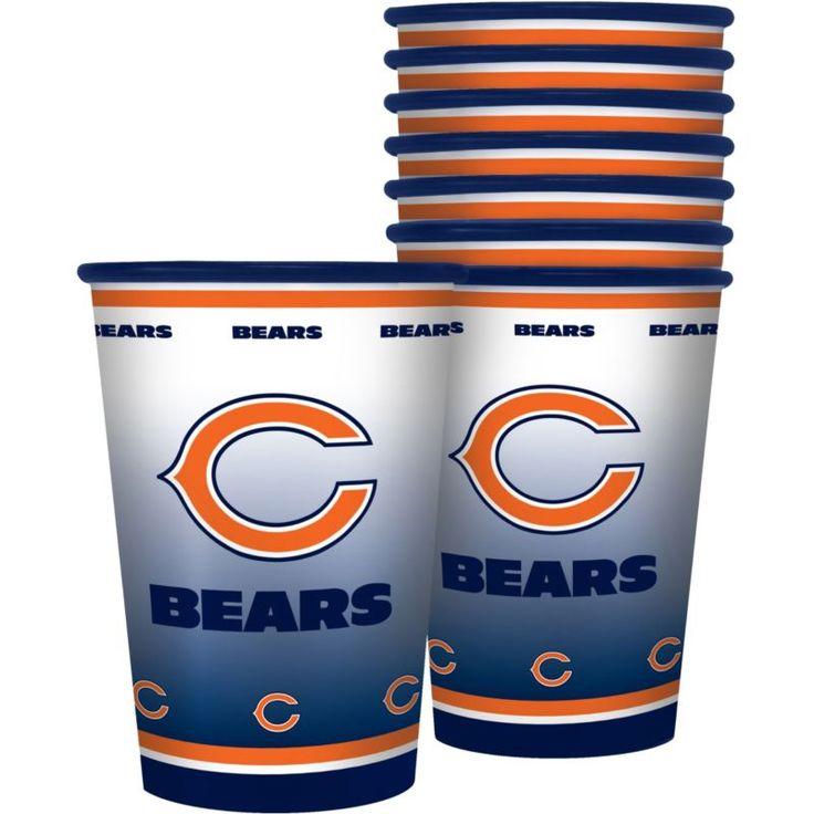 Boelter Chicago Souvenir 20oz Plastic Cup 8-Pack, Team