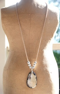 stepping stone necklace.