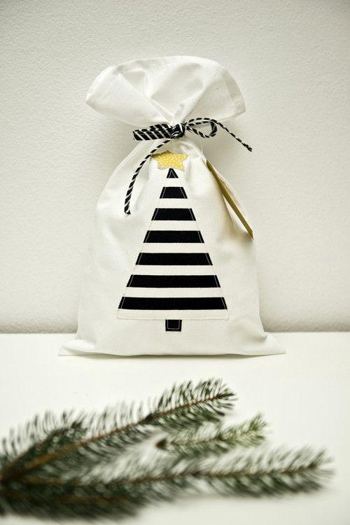 Vánoční pytlík - vánoční stromeček