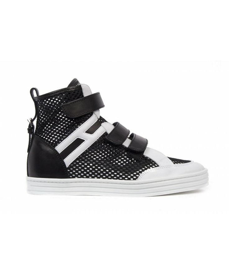 Groppetti Luxury Store - Sneakers con Velcro - Hogan Rebel Shoes Woman Spring Summer 2014 #hogan #hoganshoes # hoganrebel #fashion #woman
