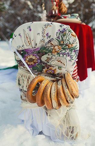 Свадьба зимной по-русски