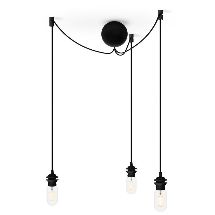 Cannonball Cluster 3 Loftslampe, Sort 599 kr. - RoyalDesign.dk