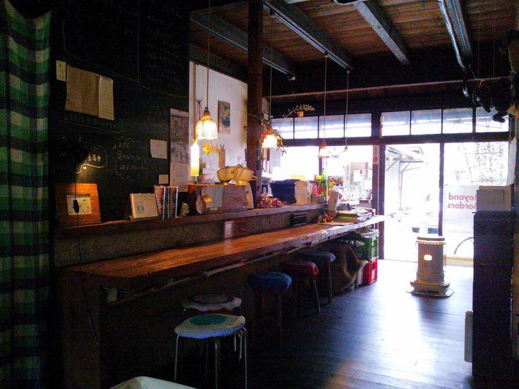 """「古民家→カフェ / Japanese traditional house → cafe 」 雨林舎 (中京区/京都府) """"http://living.ikigoto.com/cafe/ """""""
