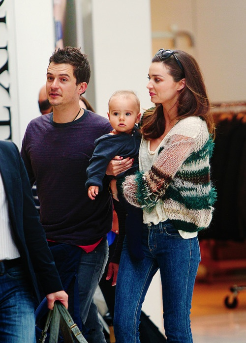 Orlando Bloom & Miranda Kerr :)