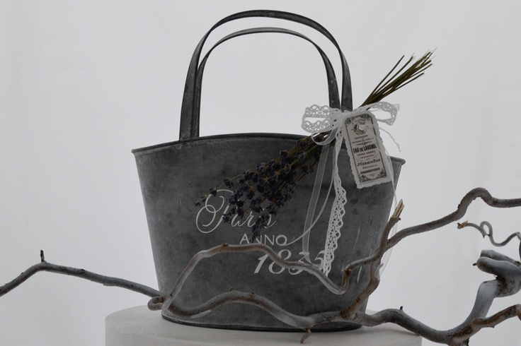 shabby zink bag