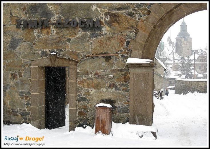 zamek czocha - brama