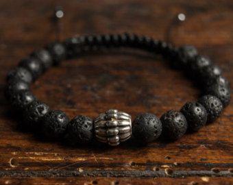 Uomini braccialetto tribale occhio di tigre di MensMassive su Etsy