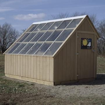 We constructed this nifty 8x8x12' passive-solar kiln. And boy does it work, not to mention save money! Better still, we developed a plan for our kiln so you can build one just like it.