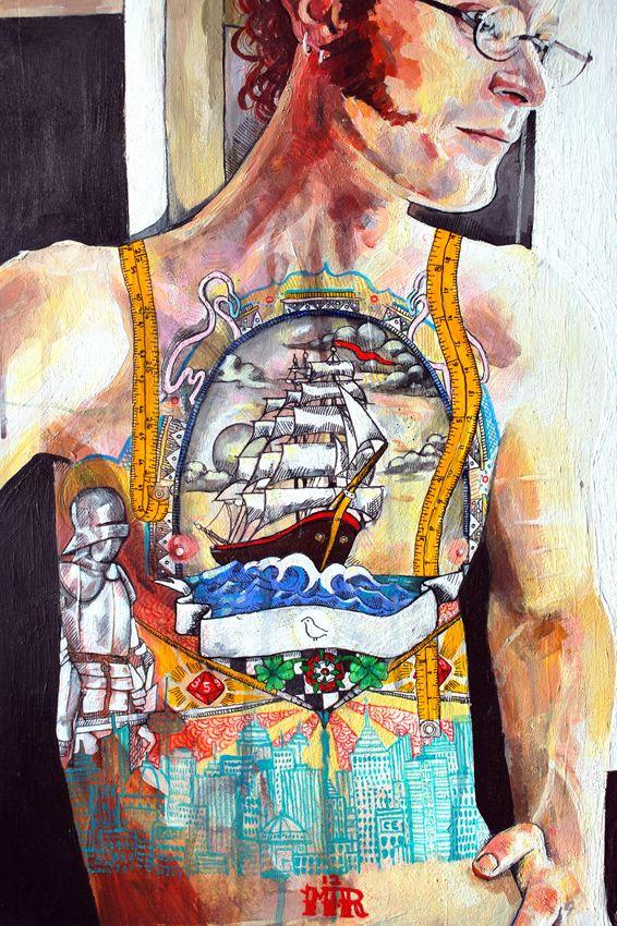 Monique Revell - Genius Artists #artist #art #tattoo #mildredco