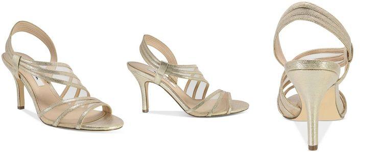 Nina Vitalia Asymmetrical Sandals - Evening & Bridal - Shoes - Macy's