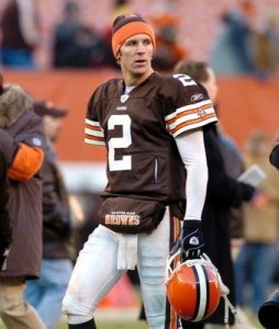 Tim Couch from the Cleveland Browns, from Hyden, Kentucky. Leslie County H.S. It's a shame the Browns sucked at the time. But my dad knew Tim, and his family.