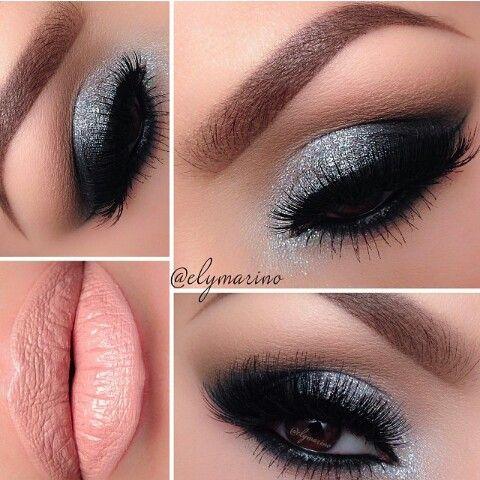 Silver eyes, evening makeup, party makeup★