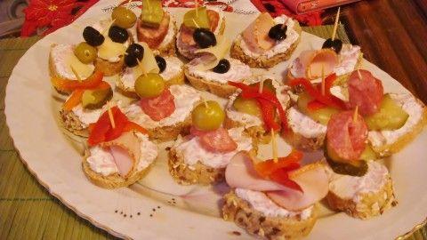 Šunkovo-sýrová pomazánka na chlebíčky a jednohubky - Powered by @ultimaterecipe