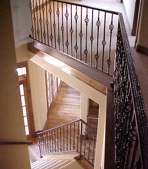 17 best images about mediterranean railings on pinterest Ranch style staircase