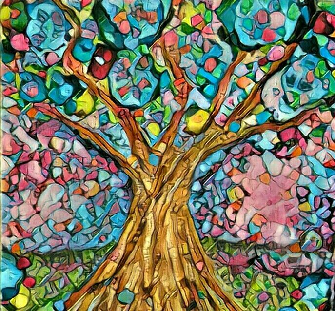 #ink#abstract#art#painting tree of life