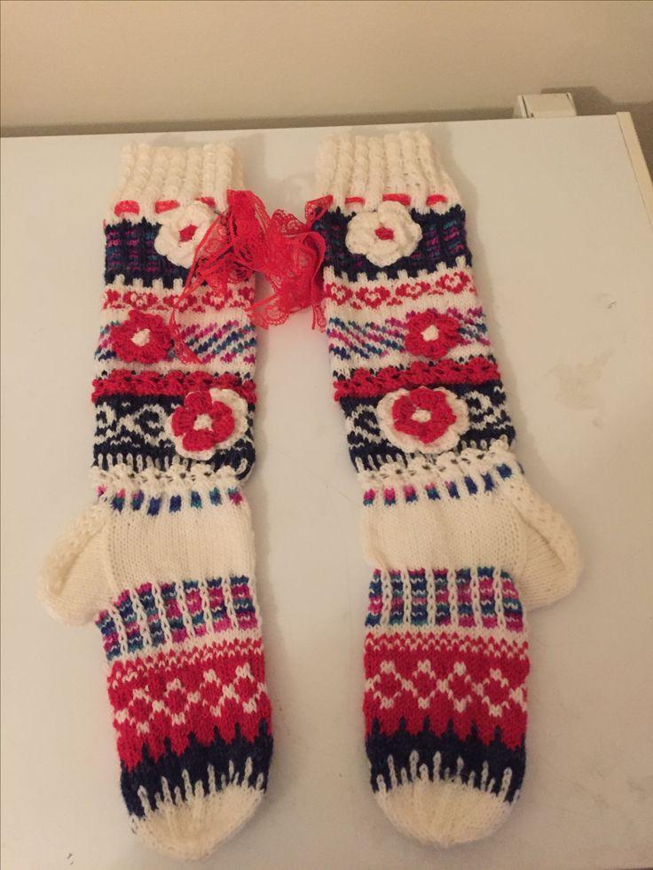 #kirjoneulesukat #socks