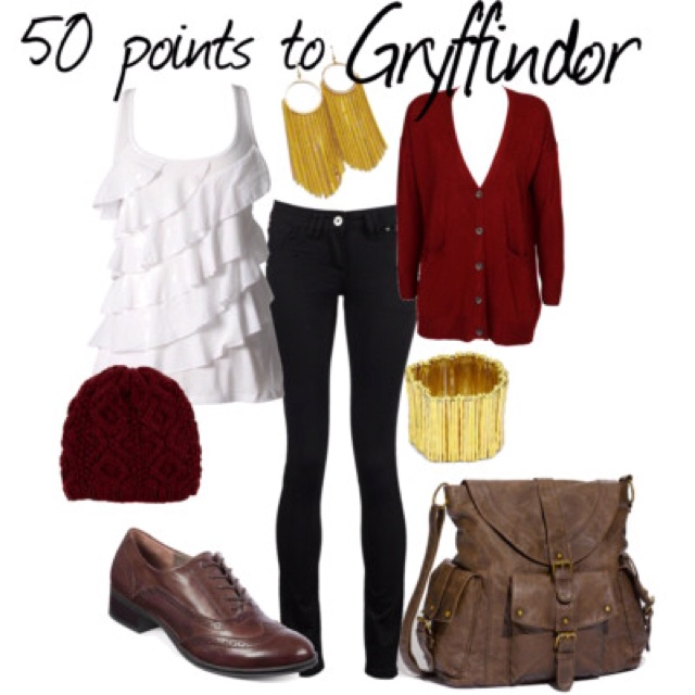 Harry Potter themed outfit.                                                                                                                                                                                 More