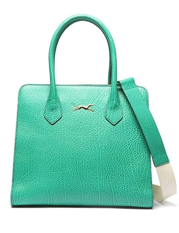 Bimba y Lola. Me encanta este color verde pastel :)