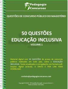 50 Questões sobre Educação Inclusiva