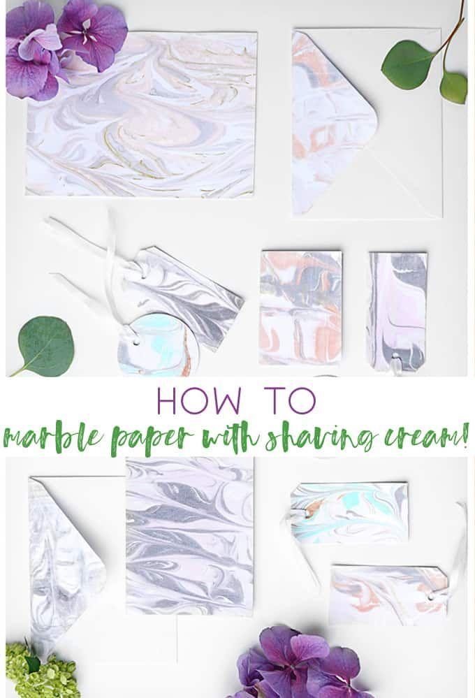 Marble Paper With Shaving Cream Craft Ideas Shaving Cream Crafts