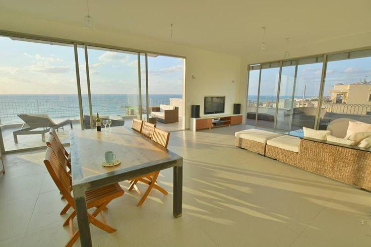 Marvellous penthouse in #TelAviv with a #Sea view. #beautiful #luxuryhome #minimalist http://www.luxuryestate.com/p27383021-penthouse-for-sale-jaffa