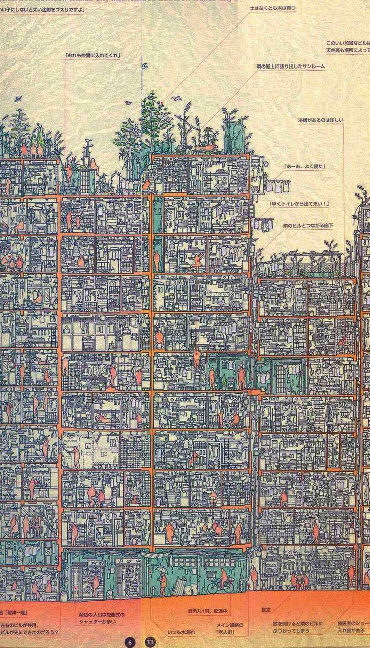 Kowloon Walled City Map http://www.hongkongbuzz.com/must-see/kowloon-city-walled-park/